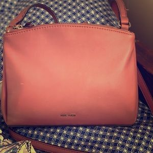 Nine West cross body pink purse
